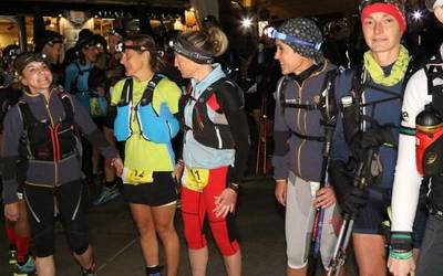 Sakandarrak Basque Ultra Trail Series lasterketan